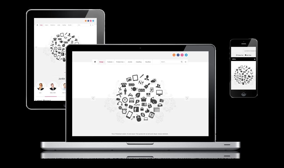 Webdesign volledig afgestemd op úw wensen!